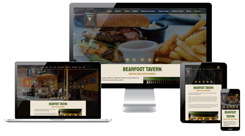 Bearfoot Tavern Website Macon