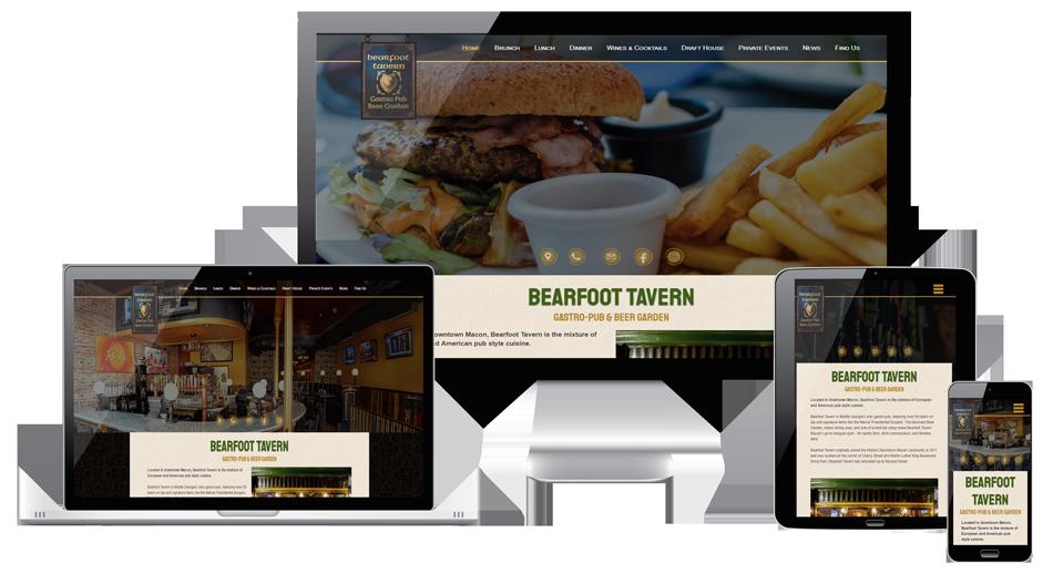 Bearfoot Tavern Website Macon